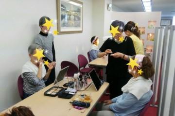 お肌のお手入れ会 in大阪本社 4月
