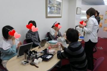 お肌のお手入れ会 & EIKO先生のメイクレッスン in 大阪本社